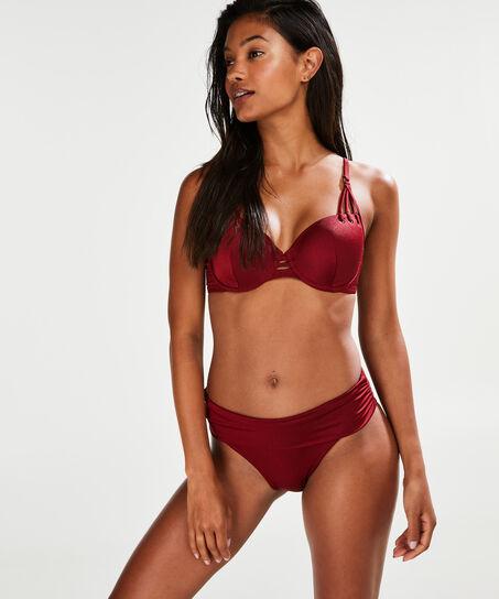 Fold over Rio-Bikinihöschen Cinammon, Rot