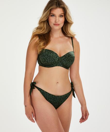 Brazilian Bikini-Slip Tonal Leo, grün