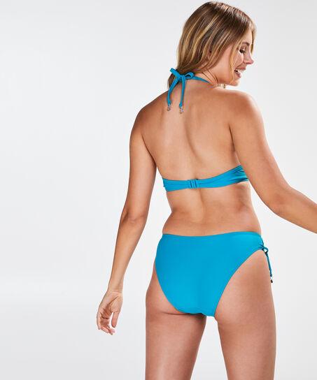 Vorgeformtes Push-up-Bügel-Bikinitop Laguna, Blau
