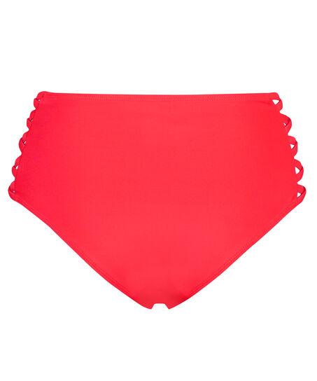 Hoher Cheeky-Bikinislip Sunset Dream, Rot