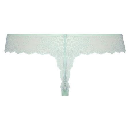 Invisible String Lace Back, Blau