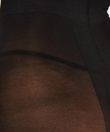 Panty 40 Denier Compression, Schwarz