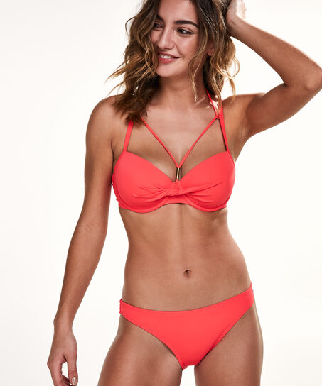 Vorgeformtes Bikinitop Sunset Dream, Rot