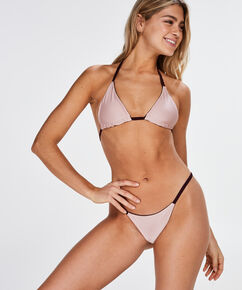 Reversible V-String-Bikinislip Purple Rain, Lila