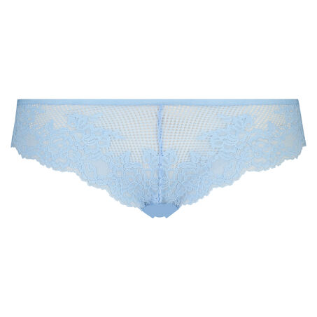 String Invisible, lace front, Blau