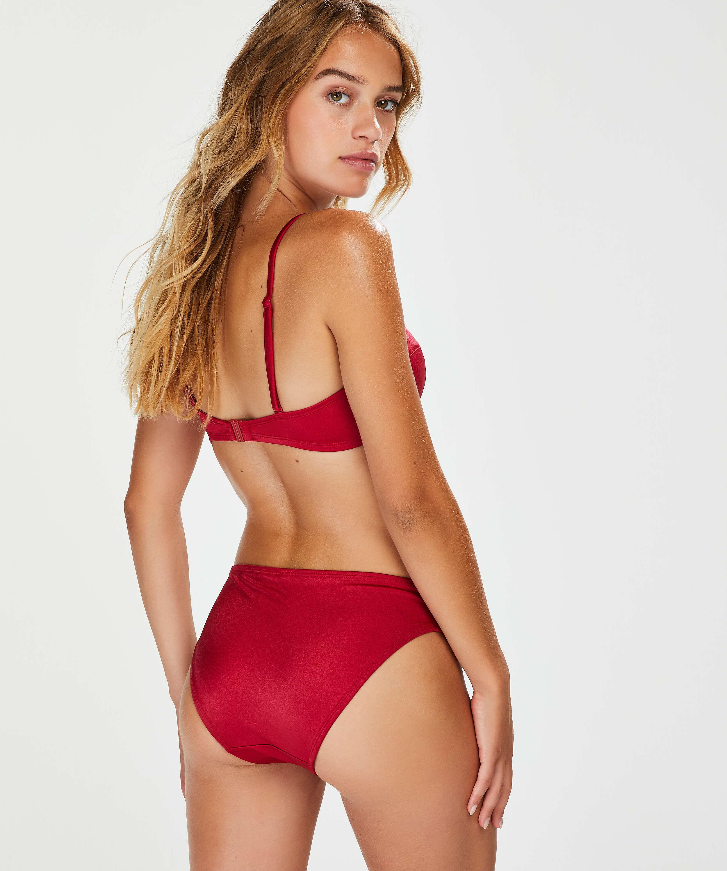 Vorgeformtes Push-up Bügel-Bikinioberteil Lola, Rot, main