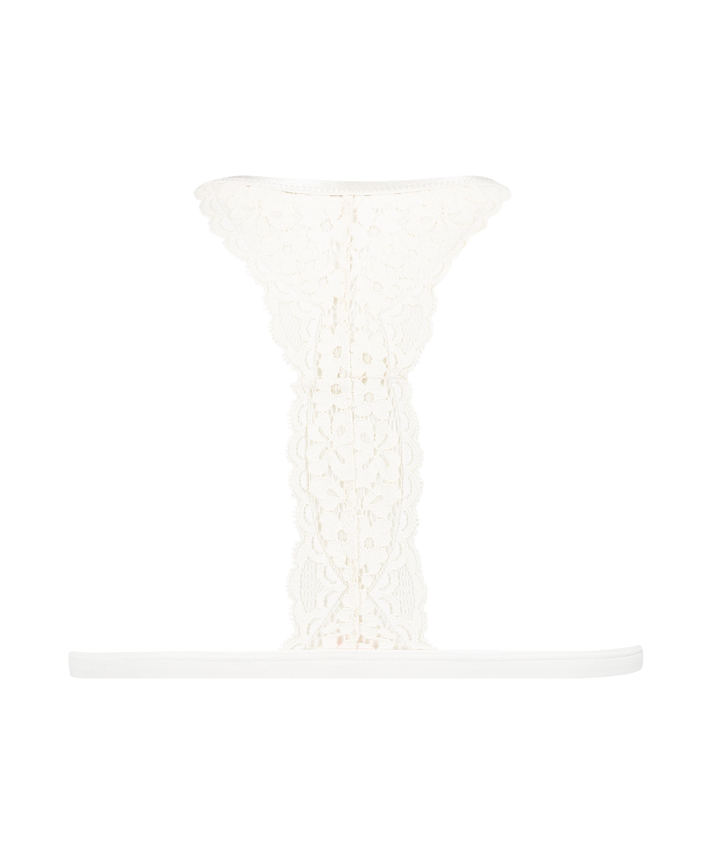 Vorgeformter Triangel-Bralette Rose, Weiß, main