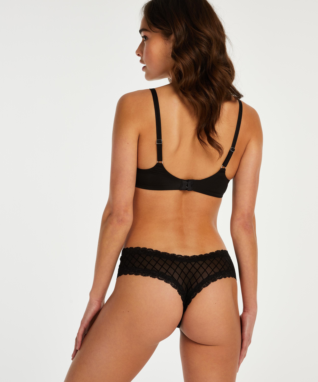 Brazilian V-shape mesh, Schwarz, main