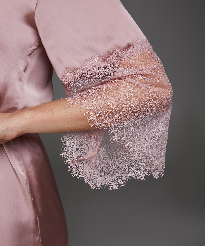 Kimono Satin Lily, Rosa, main