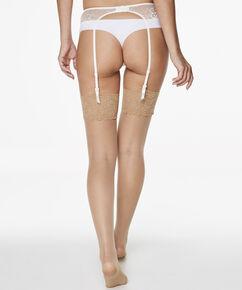 Stockings 15 Denier Lace Anti-ladder, Teint