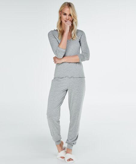 Pyjamaset, Grau