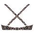 Vorgeformtes Bügel-Bikinitop Leopard, Beige