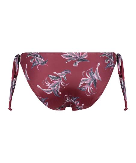Rio Bikini-Slip Tropic Glam, Rot