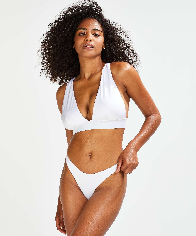 Triangel-Bikini-Oberteil Lola, Weiß, main