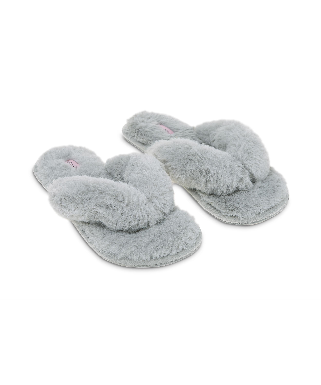 Hausschuhe Fake Fur