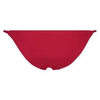 Freches Tanga-Bikinihöschen Scarlet Ruffle, Rot