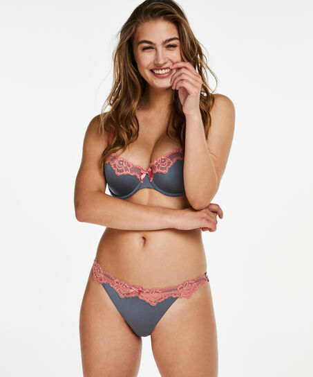 String Secret Lace, Grau
