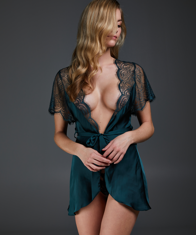 Kimono Cap Sleeve, grün, main
