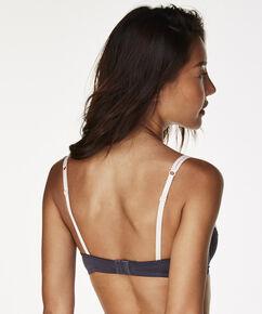 Vorgeformter Bügel-BH Secret Lace, Grau