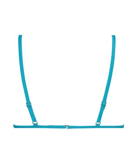 Triangle Bikini-Top Celine, Blau