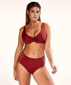 Nicht vorgeformtes Bügel-Bikinitop New Dreams, Rot