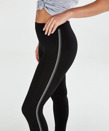 HKMX Low-waisted Leggings Level 1, Schwarz
