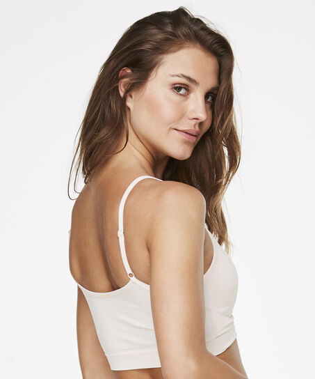 Strappy-Top, seamless, Rose