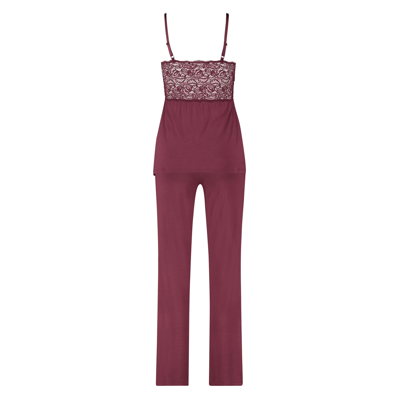 Pyjama-Set Vera Lace, Rot, main