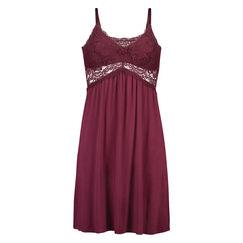 Jersey lace slipdress, Rot