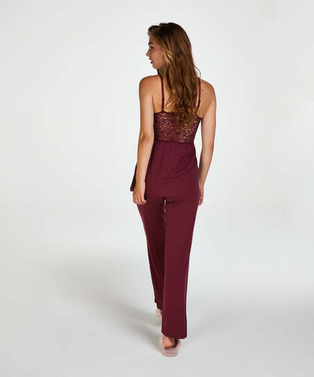 Pyjama-Set Vera Lace, Rot