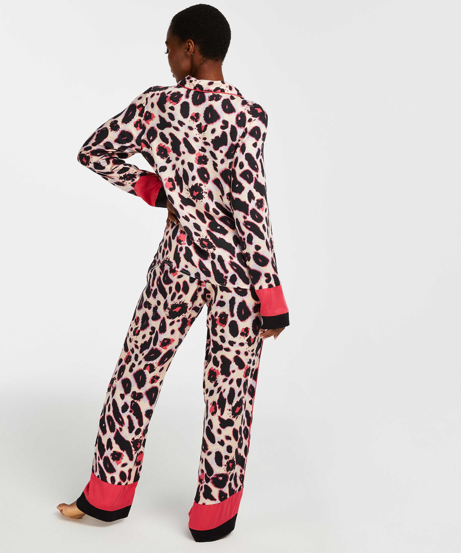 Pyjamajacke mit langen Ärmeln Duckie, Rosa, main