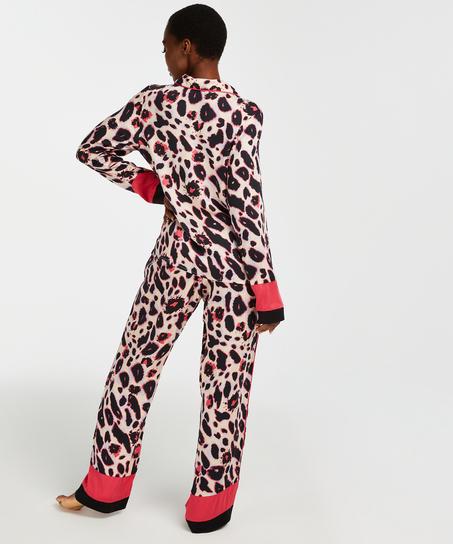 Pyjamajacke mit langen Ärmeln Duckie, Rosa