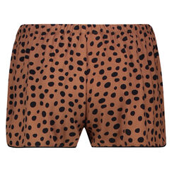 Pyjamas Shorts, Braun