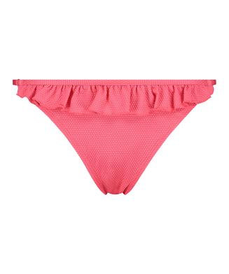 Tanga-Bikinihöschen Ruffle Dreams, Rose
