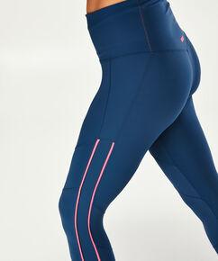 HKMX Sportleggins mit hoher Taille, Blau