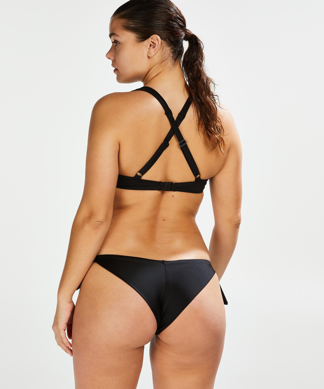 Brazilian-Bikinislip Sunset Dream, Schwarz, main