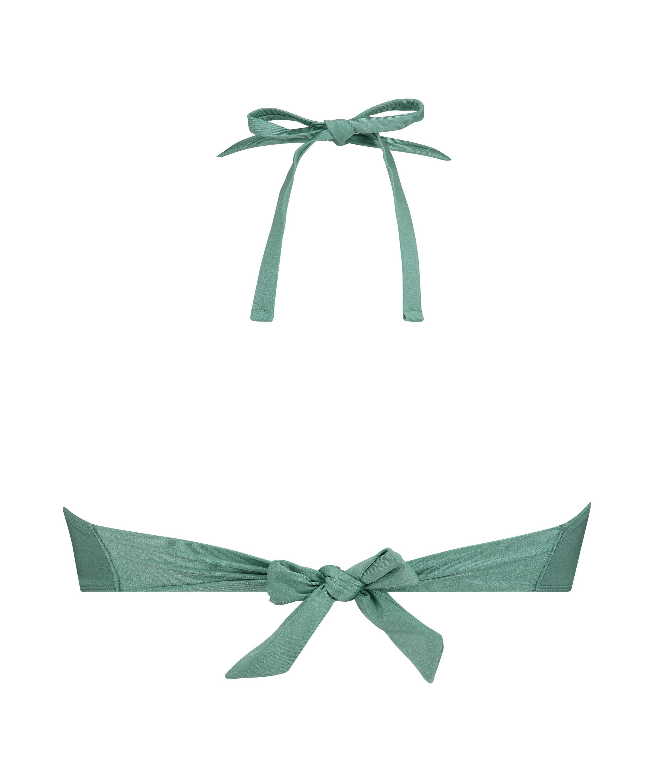 Vorgeformtes Bügel-Bikinioberteil SoCal mit Push-up-Effekt, grün, main