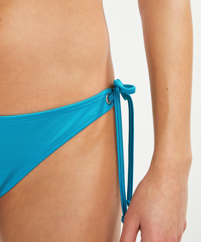Brazilian Tanga Bikini-Slip Celine, Blau, main