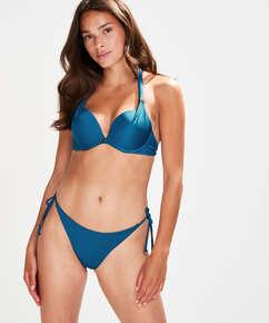 String Bikini-Slip Sunset Dream, Blau