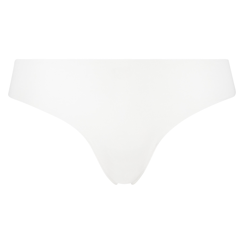Invisible String aus Baumwolle, Weiß, main