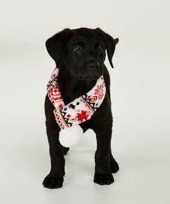 Schal Hund, Rot