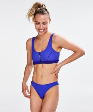 HKMX Bikini-Croptop Neo, Blau