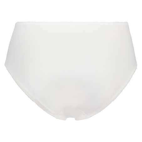Hochgeschnittener Slip Diva, Weiß