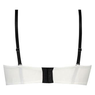 Vorgeformter Strapless-Bügel-BH Minnie, Weiß