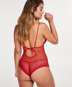 Body Geo Lace, Rot