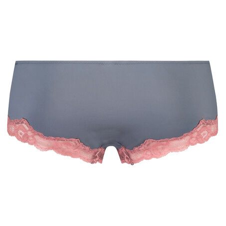 Boxer Secret Lace, Grau