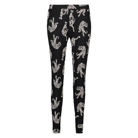 Pyjamahose Loose fit, Schwarz