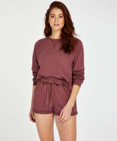 Shorts Sweat French, Rose