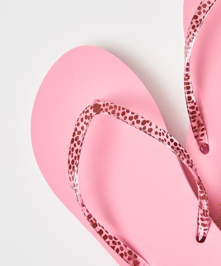 Flip-Flops Leopard, Rose
