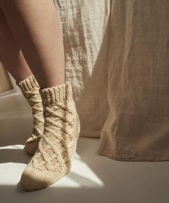 Socken Knit, Beige